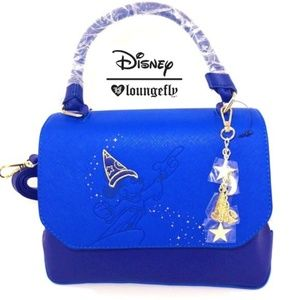NWT, Loungefly Disney Sorcerer's Apprentice, Purse